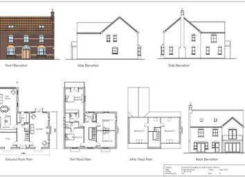 Thumbnail 6 bed detached house for sale in Main Street, Fulstow, Louth