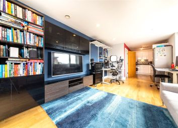 Thumbnail 2 bed flat for sale in Jubilee Court, 8 Wood Wharf, Greenwich, London