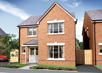 Thumbnail 3 bedroom detached house for sale in The Ferndale, Padfield, Tonyrefail, Rhondda