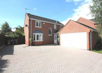 Thumbnail 4 bedroom detached house for sale in Outlands Drive, Hinckley
