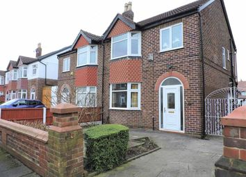 Thumbnail 3 bed semi-detached house for sale in Hilbre Road, Burnage, Manchester