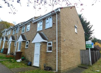 Thumbnail 1 bed end terrace house to rent in Silverbank, Walderslade