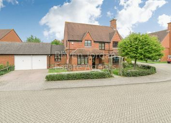 Thumbnail 4 bed detached house for sale in Ebbsgrove, Loughton, Milton Keynes