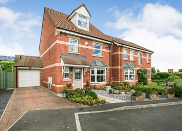 Thumbnail 4 bedroom detached house for sale in Stubley Drive, Dronfield Woodhouse, Derbyshire