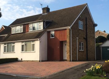 Thumbnail 4 bed semi-detached house to rent in Trewenna Drive, Potters Bar, Potters Bar