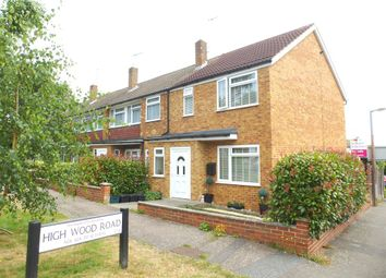 Thumbnail 3 bedroom end terrace house for sale in High Wood Road, Hoddesdon
