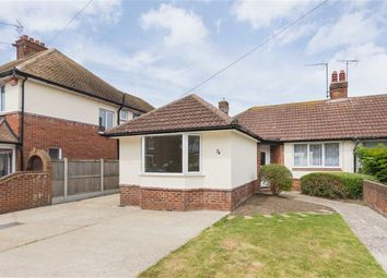 Thumbnail 2 bed semi-detached bungalow for sale in Cliftonville Avenue, Cliftonville, Margate