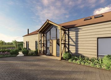 Thumbnail 4 bed detached house for sale in Meadow View, Pitt Lane, Frensham