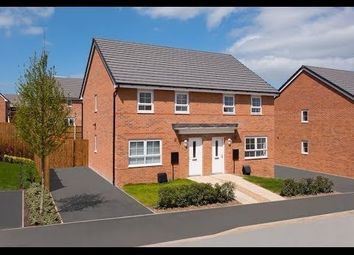 Thumbnail 3 bedroom semi-detached house for sale in Bowyer Way, Stobhill, Morpeth, Northumberland