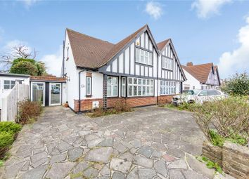 Thumbnail 3 bed semi-detached house for sale in Meadow Way, Upminster