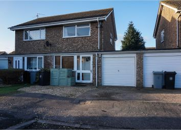 Thumbnail 2 bed semi-detached house for sale in The Lees, Deeping St James