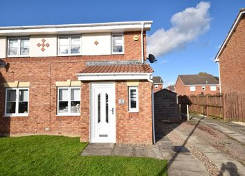 Thumbnail 2 bed semi-detached house for sale in Steel Place, Wishaw