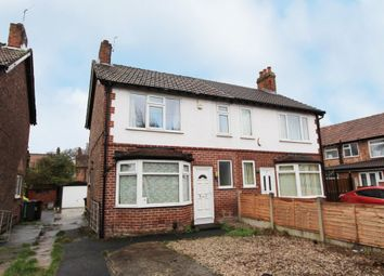 Thumbnail 2 bed semi-detached house for sale in Headingley Road, Manchester