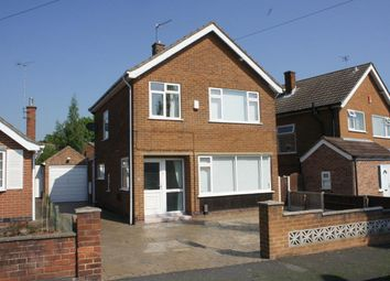 Thumbnail 3 bed detached house to rent in Field Rise, Littleover, Derby
