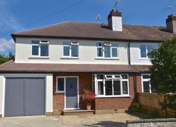 Thumbnail 4 bed semi-detached house to rent in Barnett Close, Leatherhead