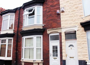 Thumbnail 3 bed terraced house to rent in Clive Road, Middlesbrough