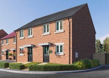 "Thumbnail 2 bed semi-detached house for sale in ""The Hammerton"" at Station Road, Kirk Hammerton, York, Kirk Hammerton"