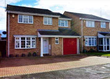 Thumbnail 5 bed detached house for sale in Burchnall Close, Peterborough