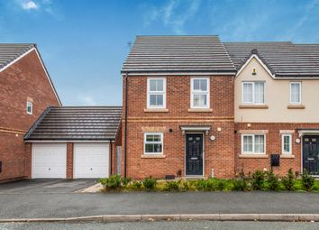 Thumbnail 3 bed end terrace house for sale in Parbrook Road, Huyton, Liverpool