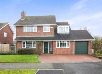Thumbnail 4 bed detached house for sale in Daresbury Close, Holmes Chapel, Crewe, Cheshire