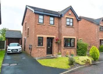 Thumbnail 4 bed detached house for sale in Bramblewood, Croston, Leyland