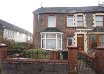 Thumbnail 4 bed end terrace house for sale in Gordon Road, Blackwood