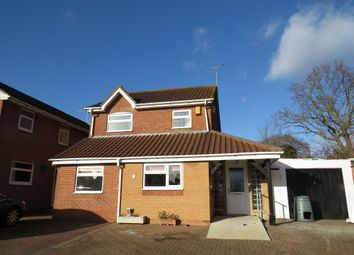 Thumbnail 3 bed detached house for sale in Gainsborough Avenue, Bradwell, Great Yarmouth