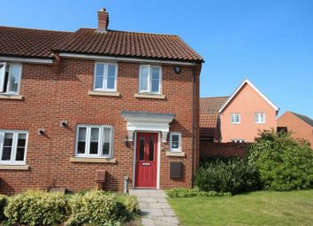 Thumbnail 3 bed semi-detached house to rent in Dolphin Road, Norwich