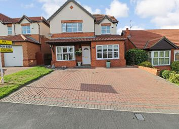 Thumbnail 4 bedroom detached house for sale in Briardene Way, Easington Colliery, Peterlee