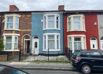 Thumbnail 3 bed terraced house for sale in 110 Benedict Street, Bootle, Merseyside