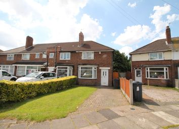 Thumbnail 2 bed end terrace house for sale in Whitburn Avenue, Great Barr, Birmingham