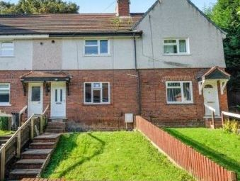 Thumbnail 2 bed terraced house for sale in Meadow Road, Dudley, West Midlands