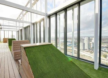 Thumbnail 1 bed flat to rent in Stratosphere Tower, Great Eastern Road, London