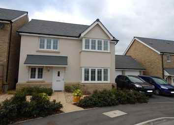 Thumbnail 4 bed detached house for sale in Cloakham Drive, Axminster, Devon