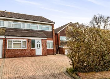 Thumbnail 4 bed semi-detached house for sale in Greenacres, Furnace Green, Crawley