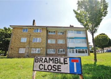 Thumbnail 2 bed flat for sale in Bramble Close, Croydon