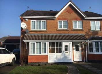 Thumbnail 3 bed semi-detached house to rent in Bramble Close, Glenfield