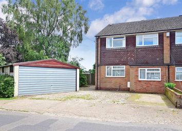 Thumbnail 4 bed semi-detached house for sale in Town Lane, Chartham Hatch, Canterbury, Kent