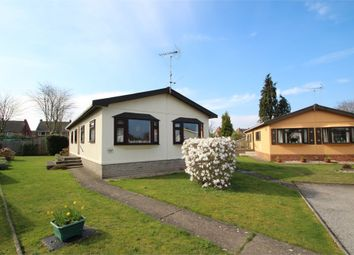 Thumbnail 1 bed mobile/park home for sale in Heathlands Park, Foxhall Road, Rushmere St Andrew, Ipswich, Suffolk