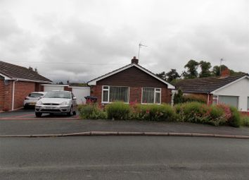 Thumbnail 2 bed detached bungalow to rent in Hampton Road, Oswestry