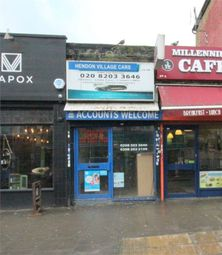 Thumbnail Commercial property to let in New Brent Street, London
