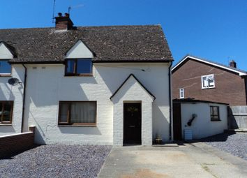 Thumbnail 3 bed semi-detached house for sale in Maesgarmon, Castle Caereinion, Welshpool