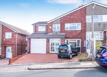 Thumbnail 4 bed semi-detached house for sale in Churton Avenue, Prenton