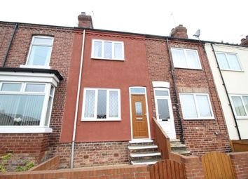 Thumbnail 2 bed terraced house to rent in Cemetery Road, Normanton