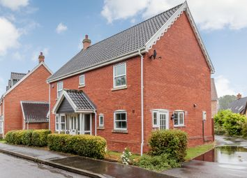 Thumbnail 4 bedroom detached house for sale in The Butts, Kennighall, Norwich