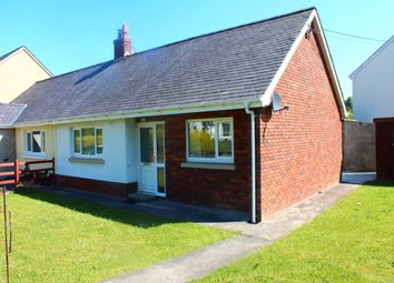 Thumbnail 2 bed semi-detached bungalow to rent in Bro Cadarn, Llanwnnen, Lampeter