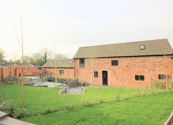 Thumbnail 4 bed barn conversion for sale in Moddershall, Stone