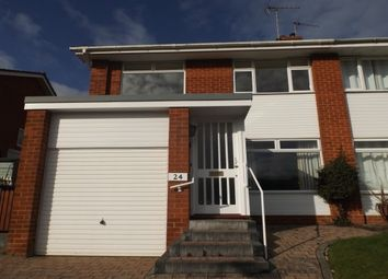 Thumbnail 3 bed property to rent in Fleming Avenue, Sidford, Sidmouth