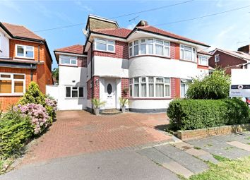 Thumbnail 5 bed semi-detached house for sale in St. Edmunds Drive, Stanmore