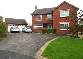 Thumbnail 4 bed detached house for sale in Sandstone Close, Rainhill, Prescot, Merseyside